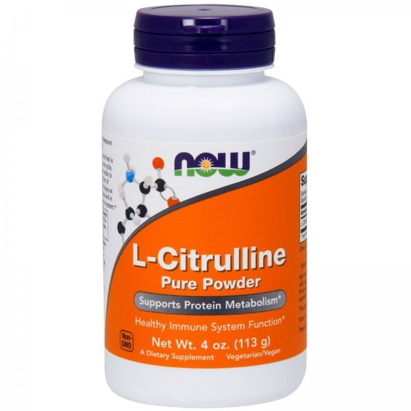 NOW L-Citrulline powder 113 грNOW214