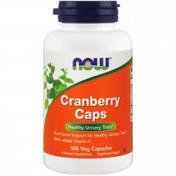 NOW Cranberry Concentrate 100 капсули