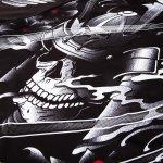 Рашгард с къси ръкави Samurai Skull VenumРашгард с къси ръкави Samurai Skull Venum3