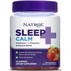 Natrol Sleep+ Calm Gummies 60 желирани бонбона