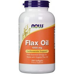 NOW Flax Oil 250 дражета