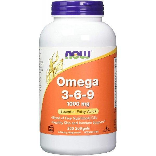 NOW Omega 3-6-9 250 дражетаNOW1837