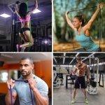 Ластична лента за упражнения, набирания и тренировка Armageddon Sports, СинARM0585