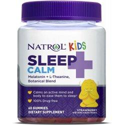Natrol Kids Sleep+ Calm Gummies 60 желирани бонбона