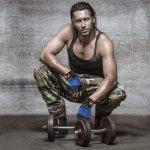 Фитнес Ръкавици с Накитници Blue Armageddon Sports ARM0272