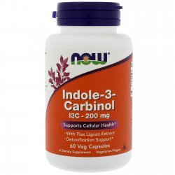 NOW Indole-3-Carbinol 60 капсули