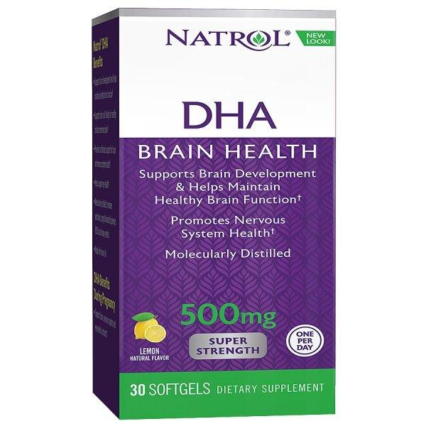 Natrol DHA Super Strenght 500 мг 30 дражетаNAT1737
