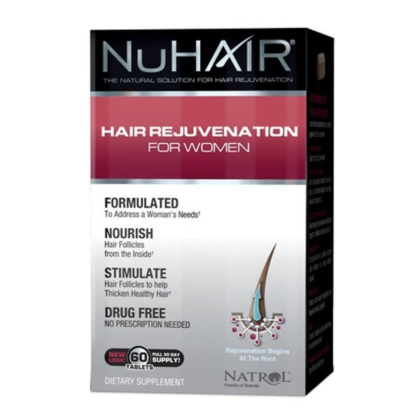 NuHair Hair Regrowth for Women 60 таблеткиNAT616