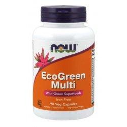 NOW EcoGreen Multi 90 капсули