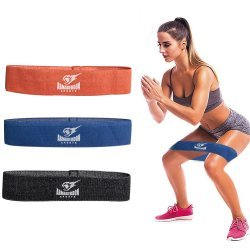 Тренировъчен ластик от текстил за тренировка на крака Armageddon Sports