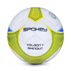 Футболна топка SPOKEY Velocity Shinout, Бял / Жълт