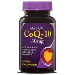 Natrol CoQ-10 30 мг 30 капсули