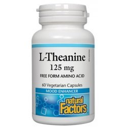 Natural Factors L-Theanine 125 мг 60 капсули