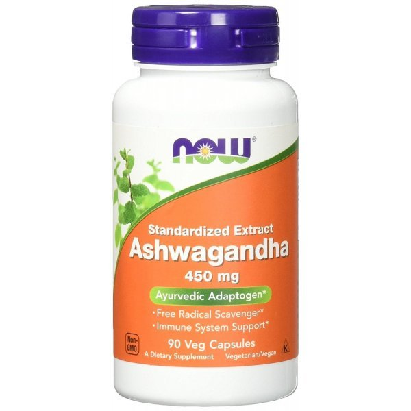 NOW Ashwagandha Extract 90 капсулиNOW4603
