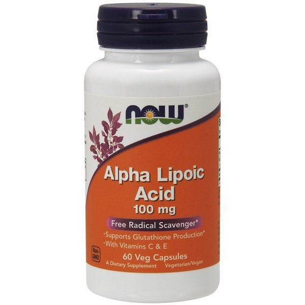 NOW Alpha Lipoic Acid 100 mg 60 капсулиNOW3040