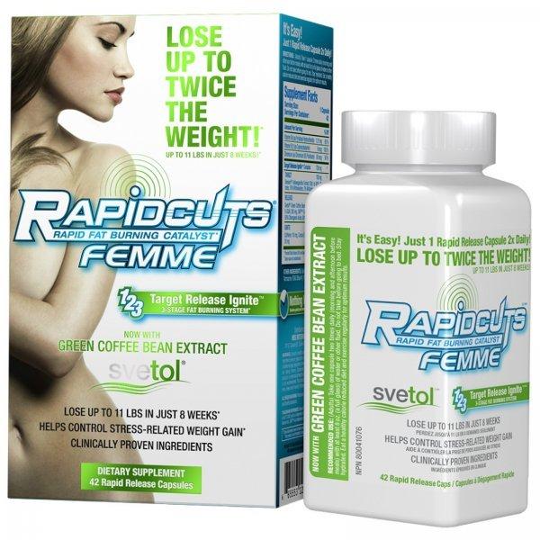 AllMax Rapidcuts Femme 42 капсулиAllMax Rapidcuts Femme 42 капсули