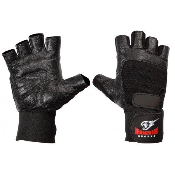 Ръкавици с Накитници Black Armageddon SportsARM001