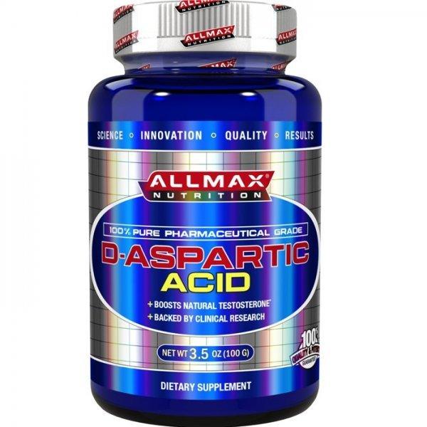 AllMax D-Aspartic Acid 100 грAllMax D-Aspartic Acid 100 гр