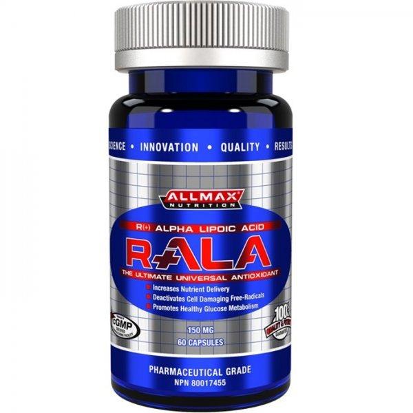 AllMax R-ALA Antioxidant 150 mg 60 капсулиAllMax R-ALA Antioxidant