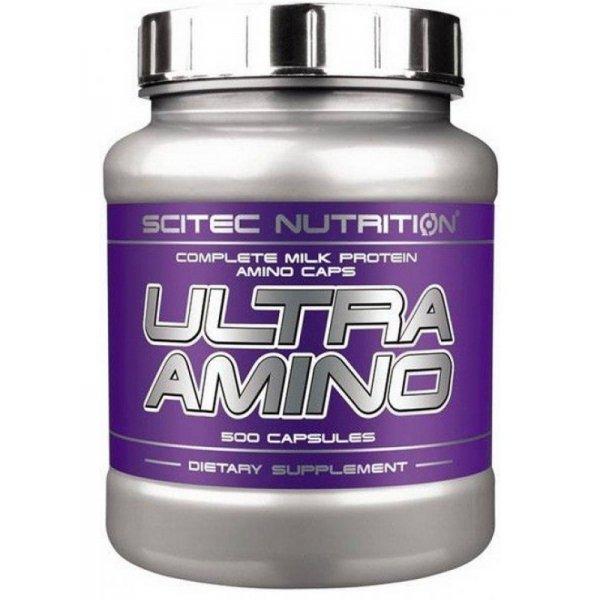 Scitec Ultra Amino 500 капсулиUltra Amino 500 капсули