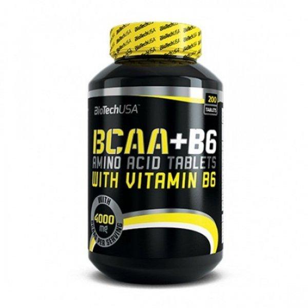 BIOTECH USA BCAA + B6 200 таблетки BT305
