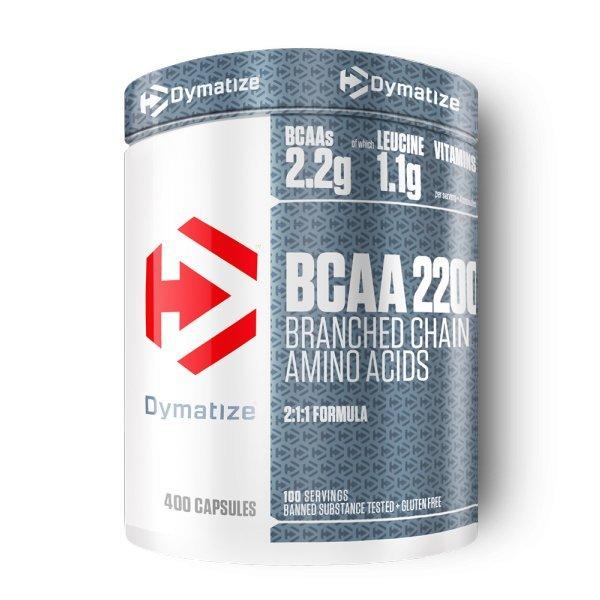 Dymatize BCAA Complex 2200 400 капсулиDymatize BCAA Complex 2200 400 капсули