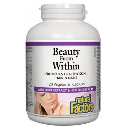Natural Factors Beauty From Within 329 мг 120 капсули