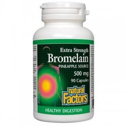 Natural Factors Bromelain 500 мг 90 капсули