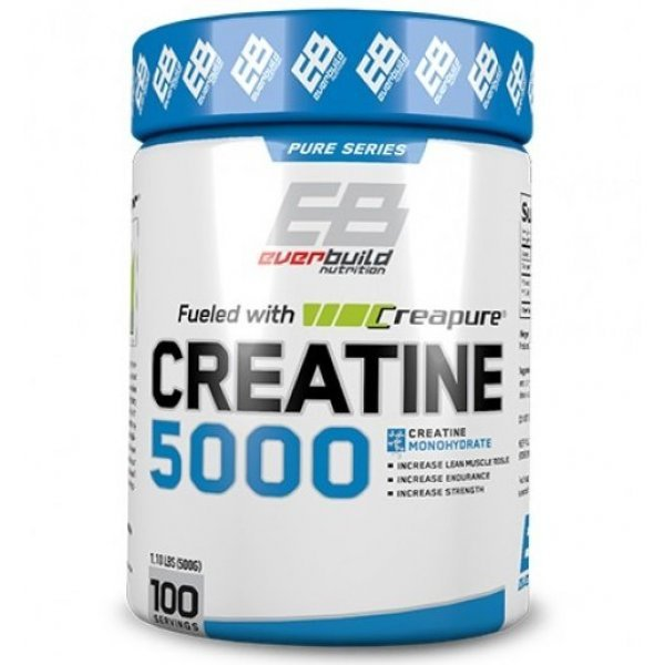 EVERBUILD Creapure Creatine 5000 500 грEB624