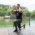 Комплект фитнес ластици за трениране от 11 части Armageddon SportsARM06112