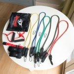 Комплект фитнес ластици за трениране от 11 части Armageddon SportsARM0613