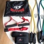 Комплект фитнес ластици за трениране от 11 части Armageddon SportsARM0614