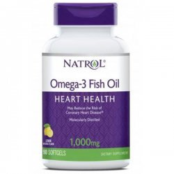 Natrol Omega-3 Fish Oil 90 дражета