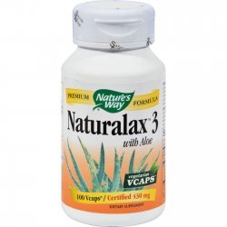 Nature's Way Naturalax 3 430 мг 100 капсули