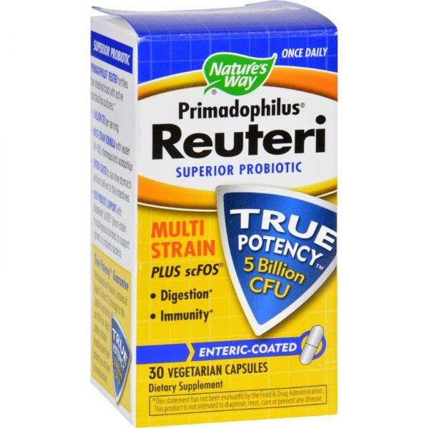 Nature's Way Primadophilus Reuteri 276 мг 30 капсули14240