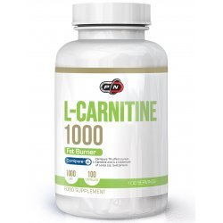 Pure L-Carnitine 1000 мг 100 капсули