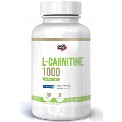 Pure L-Carnitine 1000 мг 30 капсули