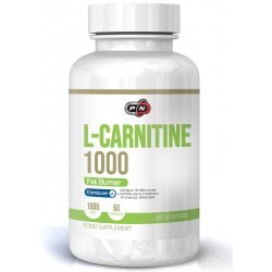 Pure L-Carnitine 1000 мг 60 капсули