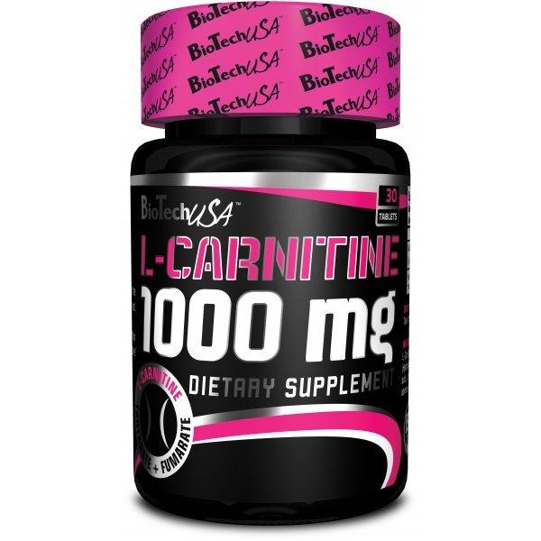 Biotech L-carnitine 1000 mg 30 таблеткиBT382