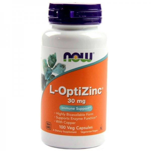 NOW L-Opti Zinc 100 капсулиNOW1510
