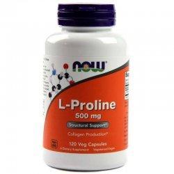 NOW L-Proline 120 капсули