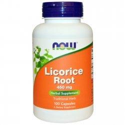 NOW Licorice Root (Сладък корен) 100 капсули
