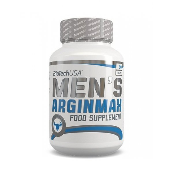 BIOTECH USA Men's Arginine 90 таблетки BT395
