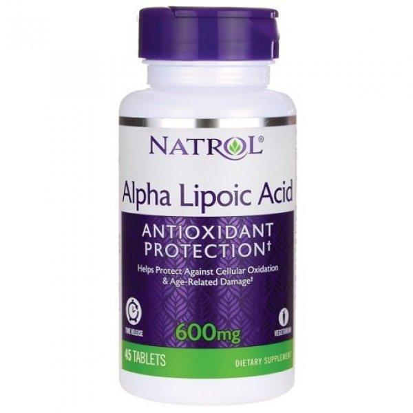 Natrol Alpha Lipoic Acid 600 мг 45 таблеткиNAT348