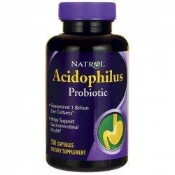 Natrol Acidophilus Probiotic 100 мг 150 капсули