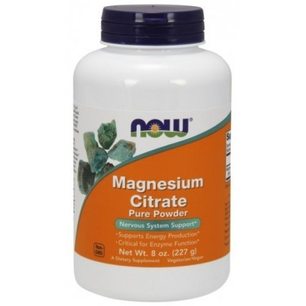 NOW Magnesium Citrate 227 грNOW1295