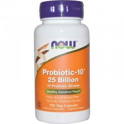 NOW Probiotic-10 25 Billion 100 капсули