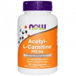 NOW Acetyl-L-Carnitine 100 капсули