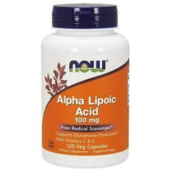 NOW Alpha Lipoic Acid 100 мг 120 капсули