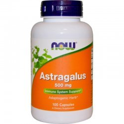 NOW Astragalus 100 капсули